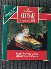 Vintage Hallmark Keepsake Ornament Bright Moving Colors CRAYOLA Crayon NIB 1990