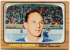 1966 67 Topps USA Test Set Jim Pappin Card #49 Toronto Maple Leafs