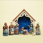 Jim Shore Heartwood Creek Away In A Manger Mini Christmas Nativity Set of 9