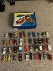 Vintage Hot Wheels And Matchbox Vehicles from the 70s 80s 90s Lot of 40 W Case