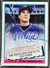 2020 Topps Archives RYNE SANDBERG ON CARD AUTO 1976 Traded Cubs AUTOGRAPH RARE!