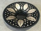 Retro Mid century Danish Glass Decorative Plate