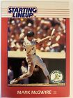 Mark McGwire 1988 Kenner SLU Starting Lineup Rookie Card  (1114)