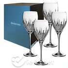 NIB Waterford Crystal Southbridge Stemmed Red White Sparkling Wine Glass 4pc Set