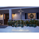 Outdoor Christmas Nativity Decor Set 7 ft Life Size Weather Resistant Plug in