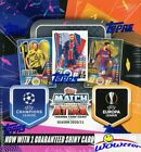 2020 21 Topps Match Attax Champions League UEFA Soccer HUGE 30 Pack Box-180 Card