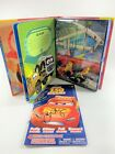 Disney CARS Toy Signed LOT 2 Ratzenberger Mack Stickers + My Busy Books Play Set