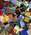 Huge Assorted Lot of Mixed Glass Mosaic Craft Tiles 10 pounds