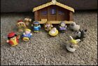 ShipsToday Fisher Price Little People Christmas Story NATIVITY Scene Playset Toy