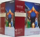 Christmas Gemmy Holiday Living 65 ft Nativity Scene Airblown Inflatable NIB