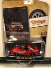 1 64 GREENLIGHT VINTAGE AD CARS 1982 FORD MUSTANG GT RED CHASE CAR