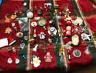 60+ Lot of Vintage Christmas Tree Ornaments  Holiday Decorations