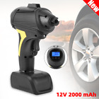 12V Electric Wireless Car Tire Air Pump Inflator 2000mAh For Bicycle Auto Bike