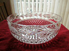 Waterford Glandore Large Crystal Cut Glass 10 Round Bowl