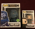 Funko Pop! Game Of Thrones Con Exclusives Lyanna Mormont #56 & Giant Wight #60