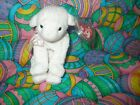 TY Beanie Baby, LULLABY the Lamb (6 inch)