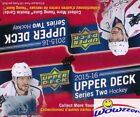 2015 16 UD Series 2 Hockey HUGE 24 Pack Retail Box-192 Cards+6 Young Guns ROOKIE