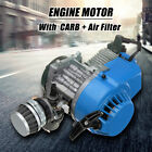 Blue 2 Stroke Engine Motor Air Filter 47CC 49CC Pocket Bike Mini Dirt AT