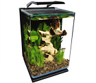 MARINELAND 5 GALLON PORTRAIT GLASS LED AQUARIUM KIT BLUE AND WHITE LEDS