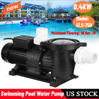 1HP 04KW Swimming Pool Water Pump Above Ground Motor Strainer 165m H