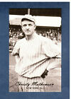 Christy Mathewson Cards and Autograph Guide 7