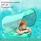 Baby Infant Waist Float Swim Ring Non inflatable Floats Toys Pool Trainer +Shade