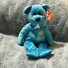 New Classy the Bear (Peoples Beanie) Year 1 Beanie Baby with Tags