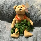 TY Beanie Baby - ALANA the Hawaiian Bear MINT with MINT TAGS 2006 8.5