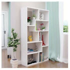 Bookcase with Shelves Natural Book Shelf Organizer