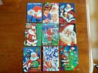1995 ASSORTED BRANDS OF SANTA CLAUSE SPORTS CARDS NM-MT LOT OF 9