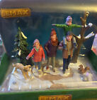 2018 LEMAX Village Collection Family Day At The Park #83358 NIB NEW