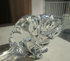 Waterford Crystal Glass Pig Figurine Paperweight Signed by Artist Jim OLeary