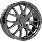 4 Vision 18 Hellion 15x65 4x45 +38mm Gunmetal Wheels Rims 15 Inch