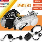 150CC 4 Stroke Long Case GY6 Auto Moped Scooter Engine Motor 150 CVT US Stork