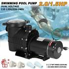 15 20HP Swimming Pool Pump Motor W Strainer Generic for Hayward Replacement