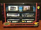 Road Champs All American Buses Box Set 1 87 Scale Miami Dart CTA  Greyhound