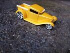 Jada 124 1932 Ford D Rods Pick Up Truck Yellow Hot Rod Rare Diecast