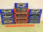 Vintage 143 lot of 10 Russian die cast 4 door cars FREE Shipping as is