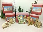 Lot of 5 Kurt Adler ANGEL HEIGHTS Nativity Shepherd  Nativity Animals in boxes