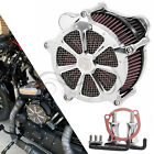 Dots Chrome RSD Air Cleaner Intake Filter For Harley Dyna Wide Glide FXDWG US