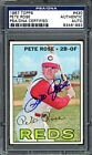 Pete Rose Baseball Cards, Rookie Card and Autographed Memorabilia Guide 36