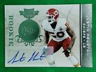 Justin Houston 2011 Plates & Patches Card #144 Rookie Autograph SN 46 100 Chiefs