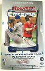 2012 BOWMAN CHROME BASEBALL HOBBY BOX