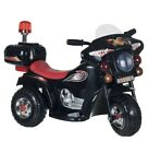 Battery Operated Rechargeable 3 Wheeled Bike Motorcycle Ride On Toy 2 4 Yrs