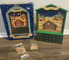 NIB Wooden Christmas Nativity Advent Calendar From Family Christian Stores