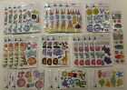 Huge ATD Acrylic  Layered Puffy Stickers lots of repeats 31 Packs many themes