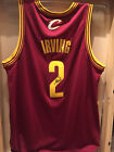 Kyrie Irving Signed Rookie Season AUTHENTIC Cleveland Cavaliers Jersey Nets NWT!