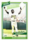 Rickey Henderson Cards, Rookie Card and Autographed Memorabilia Guide 19
