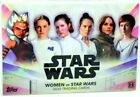 WOMEN OF STAR WARS 2020 BRAND NEW SEALED TRADING CARDS AUTOGRAPH HOBBY BOX