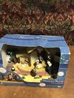 Gemmy Nativity Scene Lights Holiday Music Christmas Display New Opened Box
